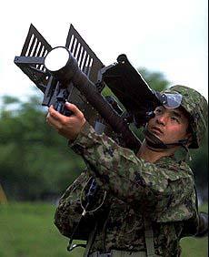 携帯式地対空誘導弾