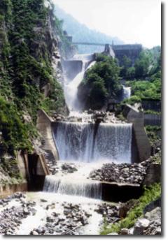 白岩砂防ダム
