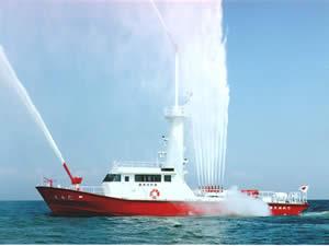 化学消防艇すみだ