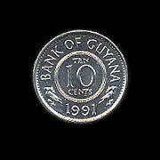 ガイアナ協同共和国の貨幣 Weblio辞書