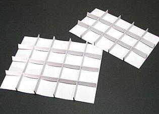 台紙付き仕切