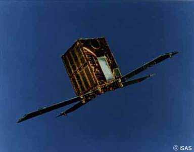 銀河中心核X線観測などをおこなう天文館測衛星「ぎんが」
