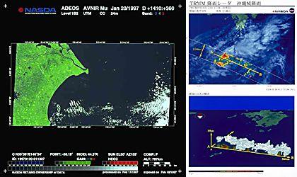 地球観測衛星データの実用