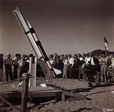 初期小型試験ロケット時代