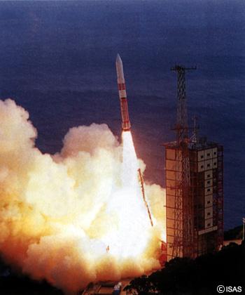 日本初の人工衛星打ち上げ