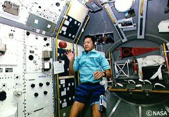 スペースシャトル内の環境