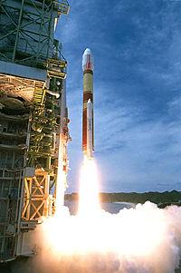 ロケットの打ち上げ工程