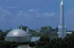 天文台とプラネタリウム