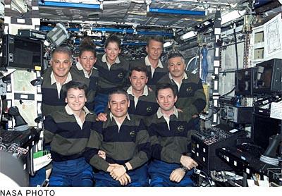 建設が進む国際宇宙ステーション