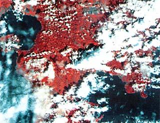 人工衛星の地球診断