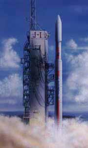 固体ロケットと液体ロケット