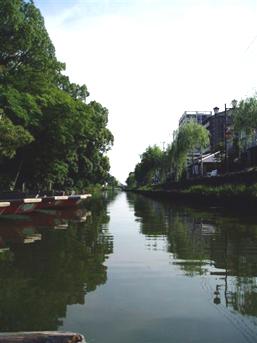 柳川の堀割