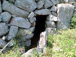 庄地灌漑用水洞